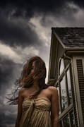 Haunted House Posters - Storm Poster by Margie Hurwich