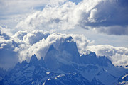 Fitz Art - Storm Over Fitz Roy 1 by Michele Burgess
