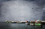 Winter Storm Posters - Storm Over Kalk Bay Poster by Neil Overy