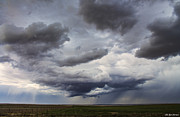 Sandoval Prints - Storm over Las Animas Print by Lena Sandoval-Stockley