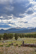 Longs Peak Photos - Storm Over Longs Peak by Kay Pickens
