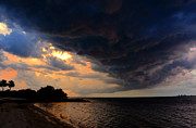 Saint Petersburg Photos - Storm over Saint Petersburg by David Lee Thompson