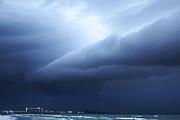 Storm Over Siesta Key - Beach Art By Sharon Cummings Print by Sharon Cummings