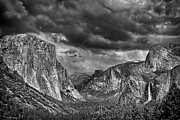David Doucot - Storm over Yosemite