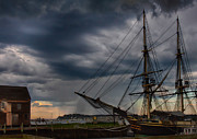 Sea Posters - Storm passing Poster by Jeff Folger