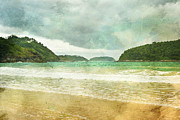 Phuket Framed Prints - Storm Rolling In Framed Print by Georgia Fowler