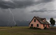 Sandra Bronstein - Stormy Teton Morning
