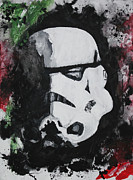 Storm Trooper Paintings - Storm Trooper by Wade Edwards