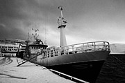 Trawler Metal Prints - stormfuglen trawler berthed in Honningsvag harbour finnmark norway europe Metal Print by Joe Fox
