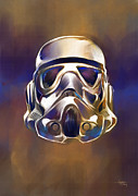 Nerd Framed Prints - Stormtrooper Framed Print by Ashraf Ghori