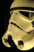 Stormtrooper Prints - Stormtrooper Helmet 112 Print by Micah May