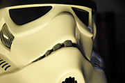 Science Fiction Framed Prints - Stormtrooper Helmet 113 Framed Print by Micah May