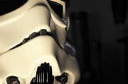 Science Fiction Prints - Stormtrooper Helmet 115 Print by Micah May