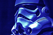Science Fiction Prints - Stormtrooper Helmet 21 Print by Micah May