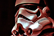 Science Fiction Posters - Stormtrooper Helmet 26 Poster by Micah May