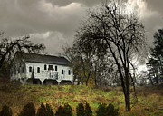 Haunted Barn Photos - Stormy Barn by Mark Dottle