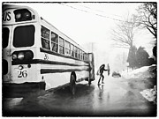Mark Miller - Stormy Bus Stop