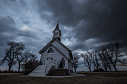 Aaron J Groen - Stormy Church