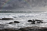 Valuable Acrylic Prints - Stormy Coast Acrylic Print by Niel Morley