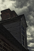 Haunted House Prints - Stormy Days Print by Margie Hurwich