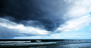 Siesta Key Prints - Stormy - Gray Storm Clouds by Sharon Cummings Print by Sharon Cummings
