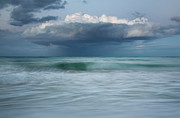 Charmian Vistaunet Framed Prints - Stormy Ocean Framed Print by Charmian Vistaunet