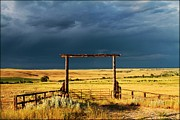 Big Horn  Photography - Stormy Skies