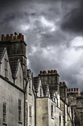 Chimneys Posters - Stormy Skies Poster by Margie Hurwich