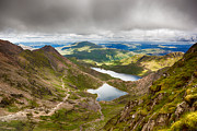 Beautiful Photos - Stormy skies over Snowdonia by Jane Rix