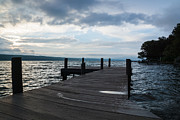 Cloud Art - Stormy Sky over Seneca Lake by Photographic Arts And Design Studio