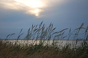 Stormy Sunset Prince Edward Island II Print by Micheline Heroux