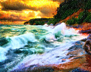 MotionAge Art and Design - Ahmet Asar - Stormy Waves