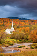 Stowe Church Print by Brian Jannsen
