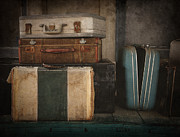 Worn Leather Metal Prints - Stranded Metal Print by Amy Weiss