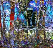 Strange Landscape Print by Navo Art