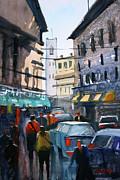 Strangers In Rome Print by Ryan Radke
