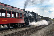 Strasburg Prints - Strasburg Railroad - 1049 Print by Paul W Faust -  Impressions of Light