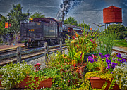 Strasburg Framed Prints - Strasburg Railroad 5 Framed Print by Jack Paolini