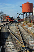 Train Pictures Prints - Strasburg Station Print by Skip Willits