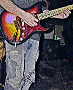 Perform Art - Strat Man  by Chris Berry