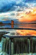 Scottish Art - Strathclyde Loch Wier  by John Farnan