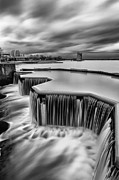 Scottish Art - Strathclyde Park Weir by John Farnan