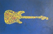 Fender Painting Originals - Stratisfaction by John Pimlott