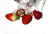 Red Fruits Framed Prints - Strawberries Framed Print by Alessandro Matarazzo