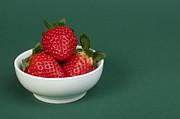 Strawberries Print by Deyan Georgiev