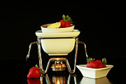 Stylized Food Photos - Strawberries for Two by Inspired Nature Photography By Shelley Myke