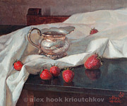 Alex Hook Krioutchkov Art - Strawberry by Alex Hook Krioutchkov