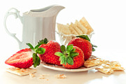 Sviatlana Kandybovich - Strawberry With Cookies...