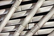 Straw Metal Prints - Straws Metal Print by Tom Mc Nemar