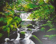 Valdengrave Okumu - Stream in a rainforest